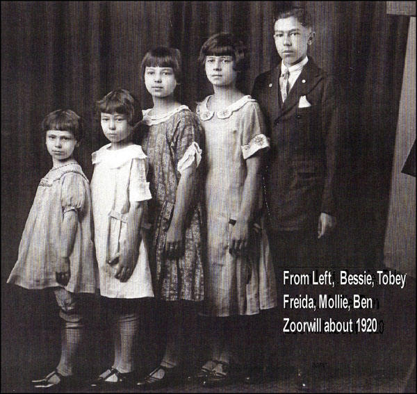 Zoorwill children 1920