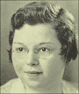 Frieda 1933 High School Photo