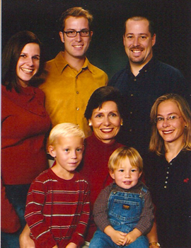 Marsha and family 2004
