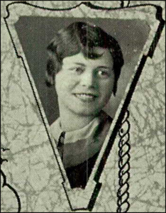 Mollie 1930 High School Photo